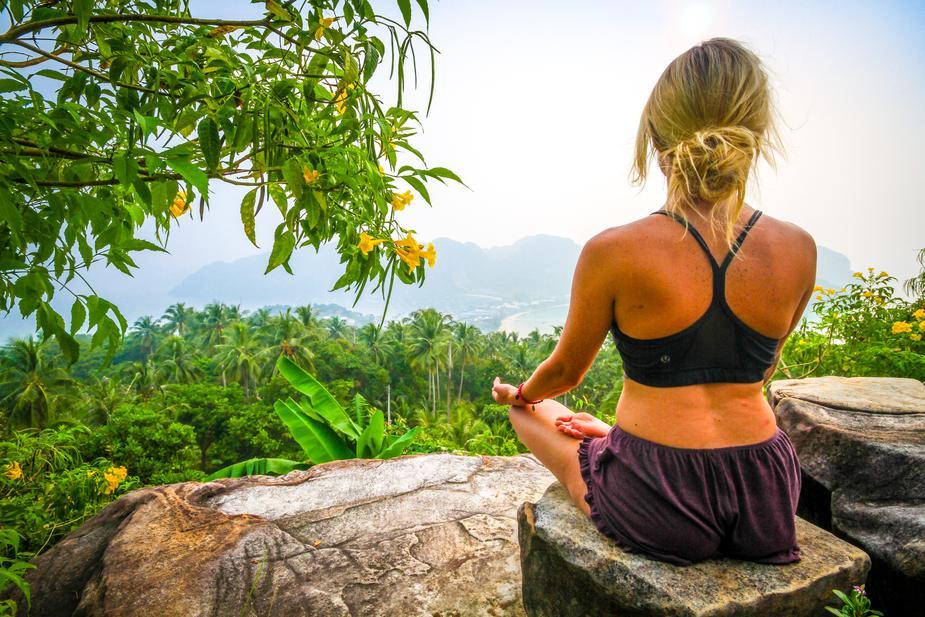 routine matinale méditation
